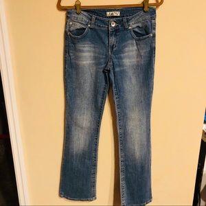 Lei jeans Ashley lowrise bootcut size 7